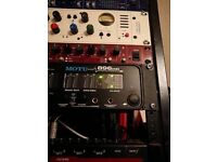 Motu 896hd firewire audio interface