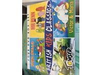 Vintage kids tv dvd boxset mr benn king rolo towser victor&maria