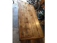 Beautiful antique pine coffee table