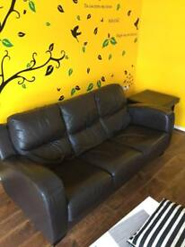 LEATHER SOFA!!! VERY GOOD CONDITION!!!
