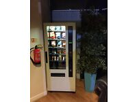 FAS Spirali S Budget - Vending Machine - Crisps, Chocolate & CANS! Includes Coin Mech