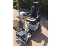 Quingo plus mobility scooter. Bought but never used. 2015 model. Mint condition