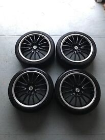 "17"" ALLOY WHEELS MULTI STUD TEAM DYNAMIC MOTORSPORT"