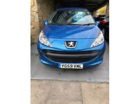 PEUGEOT 207 1.4 PETROL LONG MOT JAN 2018