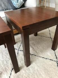 Occasional side tables