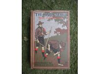 THE KINGS SCOUT HARD BACK BOOK c1915