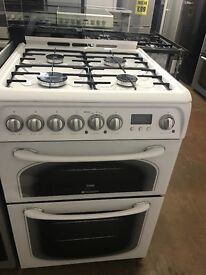 60CM WHITE HOTPOINT GAS COOKER