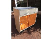 Vintage / Retro Kitchen Cupboard - 1950's Kitchen Base Unit - Kitchen Unit - Reduced