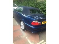 Bmw e46 convertible with full service history, 3 previous owners, Quick sale