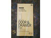 B&Q IT Ivory Style Sandford Door & Drawer 400mm