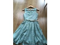 Monsoon girls dress 14 years old. Great condition. Never been worm