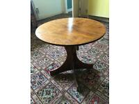Dark Wood Coffee Table / Ideal for Up-Cycling
