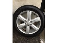 20 inch shogun alloys with nexen tyres 6-7mm tread +spare will fit most japanese 4x4's
