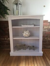 Shabby chic white bookshelf frenchic virgin white