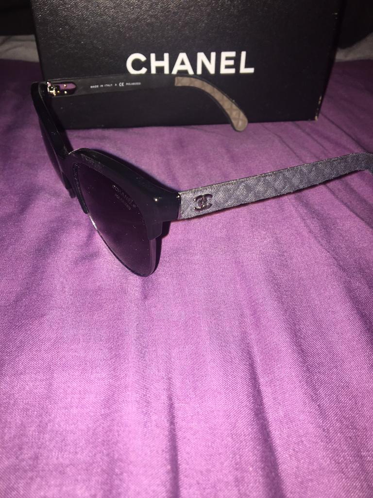 Genuine polarised Chanel sunglasses CH5342