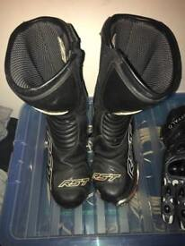 Motorcycles Boots RST TRACTECH evo