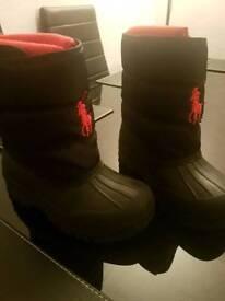 Kids Ralph Lauren Snow Boots
