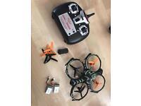 Remote Control Camera Drone x2 battery and spare rotors