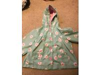 Girls M&S raincoat 12-18 months