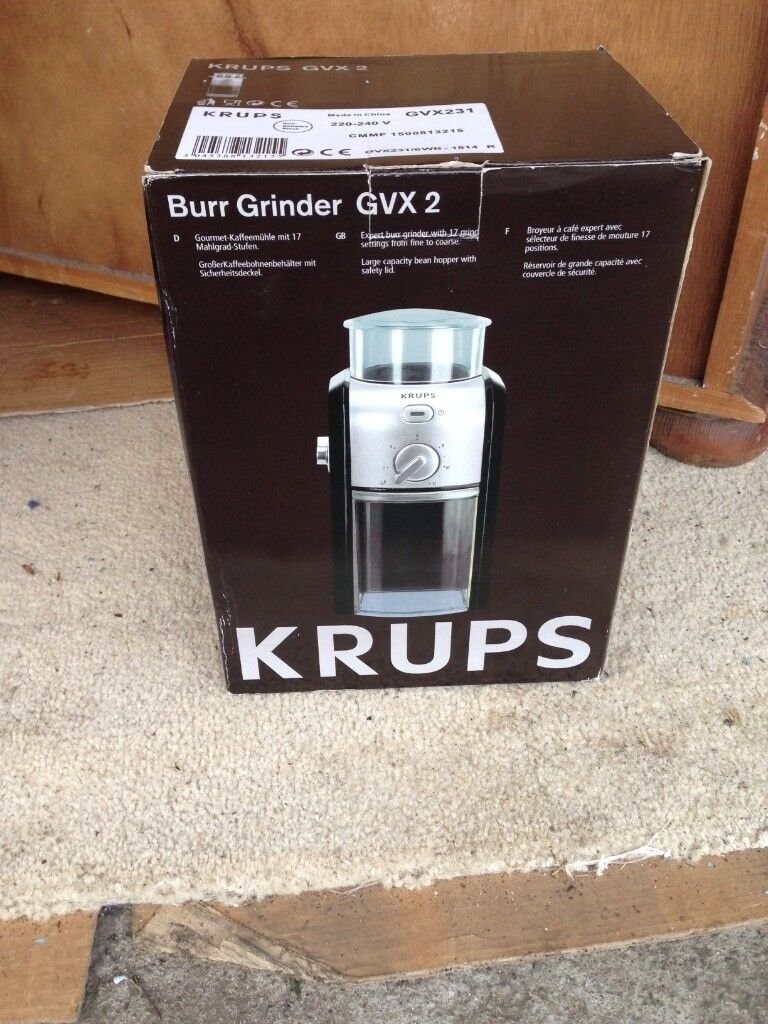 KRUPPS Coffee Grinder Machine,brand new and sill in