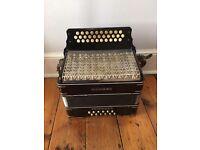 Vintage Honher Thrichord accordion