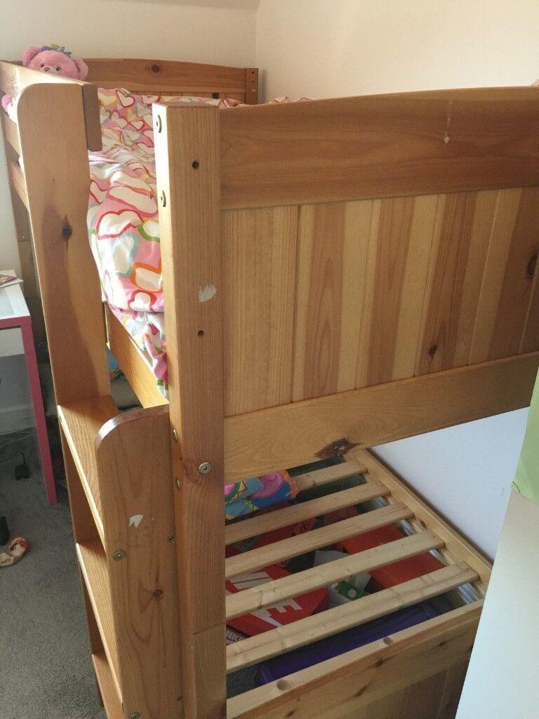 Used Wooden Bunk Bed In Stevenage Hertfordshire Gumtree