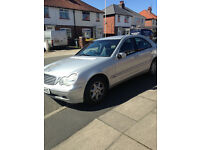 Mercedes C180 Auto 'Elegance' in excellent condition. Reduced for quick sale.