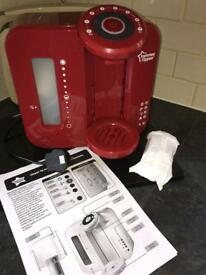 Tommee Tippee Closer to Nature Perfect Prep machine, Red