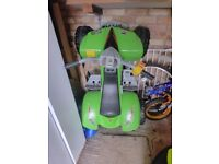 FREE - Raptor Electric 12v Quad Bike, faulty battery