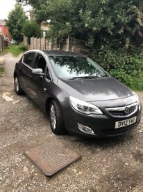 Vauxhall astra only 73000 miles.just 1 previous owner we had since last 5 years