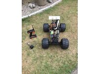 Fg 1/5 scale truck petrol buggy loads of upgrades
