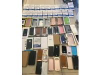 Job lot of various iPhone / Samsung Charging Cases NEW TOTAL OF 59! Wholesale