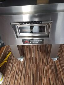 Moretti pizza oven conveyor 20 inch belt