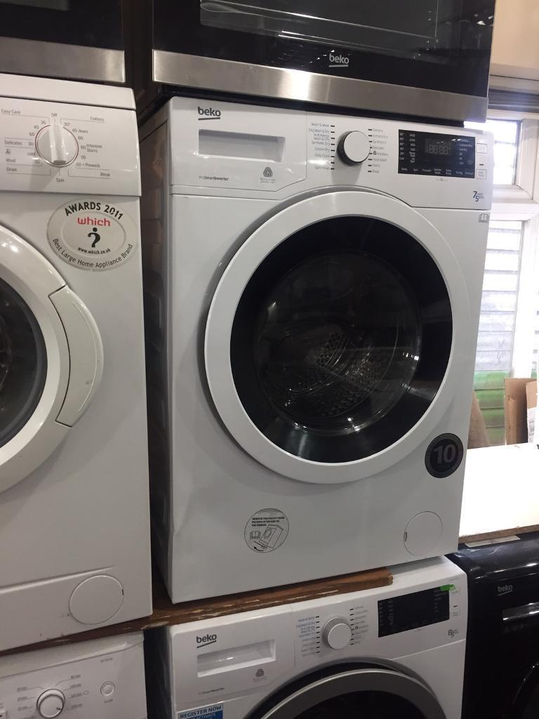 7.5kg Beko washer dryer **NEW-NEW** PRP£389.99 warranty included call today or visit us