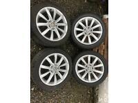 Vw golf gtd 17 inch alloys wheel caddy alloys