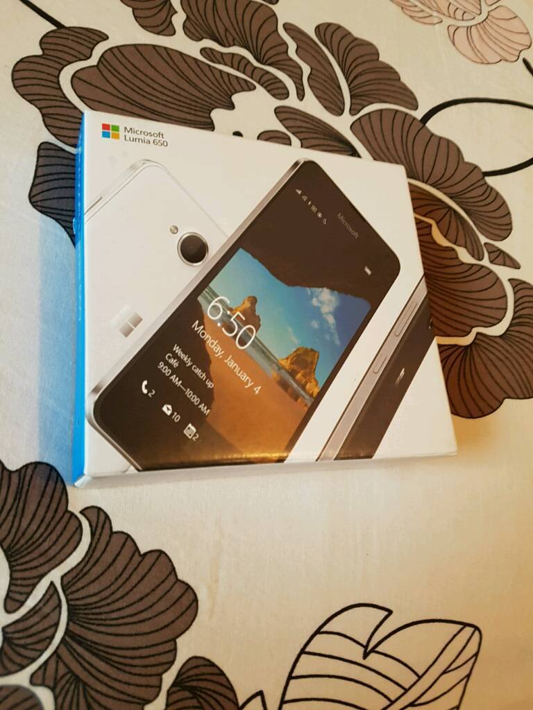 Microsoft lumia 650 brand new boxed unusedin Leicester, LeicestershireGumtree - Microsoft lumia 650 brand new boxed unused Factory unlocked will work on all networks No offers at all price to sale If its still on here its available Thank you