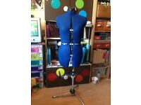 Sew brilliant, fully adjustable dressmaking/tailors dummy, perfect condition, bargain, barely used