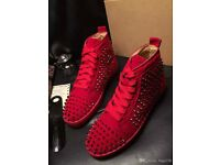 red christian loubtain size 8 uk brand new