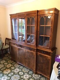 Beautiful display cabinet for sale.