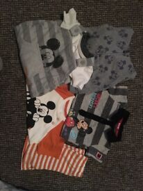 Mickey Mouse Baby Bundle 3-6 Months