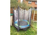 Trampoline. Well used.