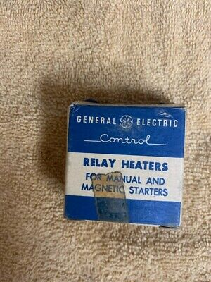 General Electric Relay Heaters For Manual And Magnetic Starters F149c - 81d599