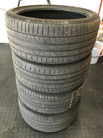 4x Continental Sport Contact 5P Tyres - 235/35/19 91Y XL