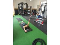 Gym Space for Rent at our studio for personal trainers with excisint clients.
