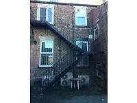metal fire escape steps x 2