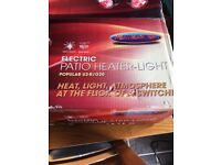 Brand new in box electric patio heater