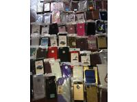 Job lot of phone cases & glass screen protectors TOTAL 360!! Including iPhone / Samsung ect