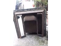 Cast iron fire surround for sale , victorian style