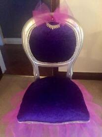 chair in ballerina style