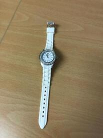 Ladies White Sekonda Watch